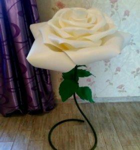 Роза-светильник