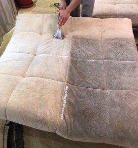 Химчистка, чистка мягкой мебели и ковров