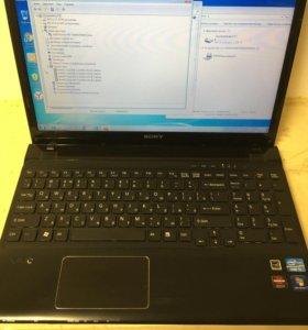 Ноутбук Sony Vaio SVE 151
