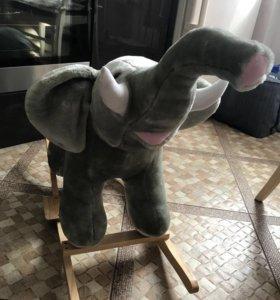 Слон качалка НОВАЯ!