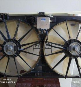 Лексус GS300 радиатор охлаждения, радиатор конди