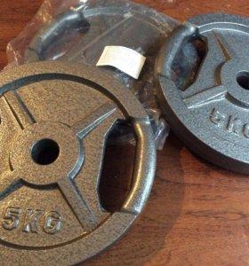 Железные диски с хватом