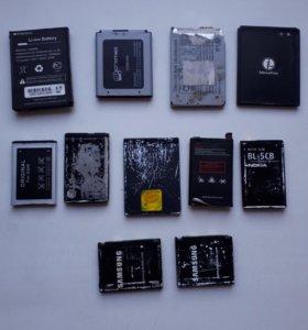 Батарейки рабочии