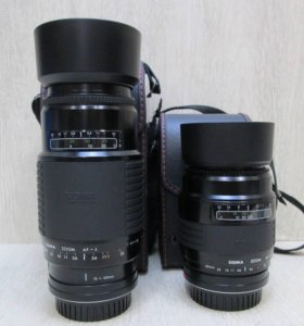 Объективы для Sony-SIGMA 60-200 и 75-300+подарок