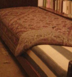 Кровать односпальная 2м х80 см