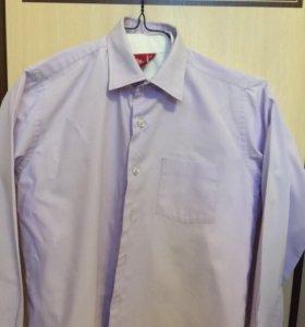 Рубашка классическая в ассортименте, для школы!