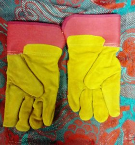 Перчатки утеплённые
