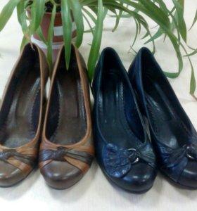 Туфли из натуральной кожи, 37