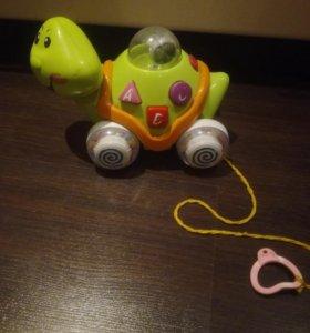 Игрушка музыкальная черепаха