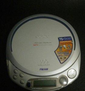 Cd плеер Sony Walkman D-NF611