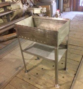 Изготовление мангалов из нержавеющей стали