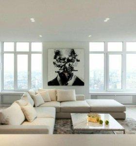 Уборка квартир, помещений. Мойка окон, балконов.