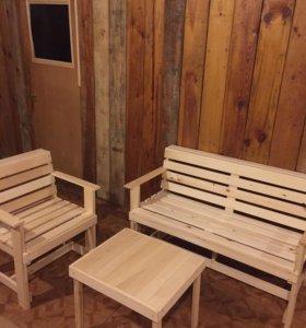 Мебель для сада, бани