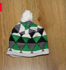 Продам шапку х/б с подкладкой