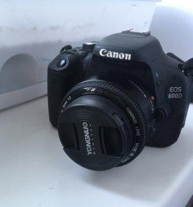 Фотоаппарат Canon 600 D
