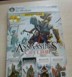 Компьютерная игра ASSASSINS CREED 3