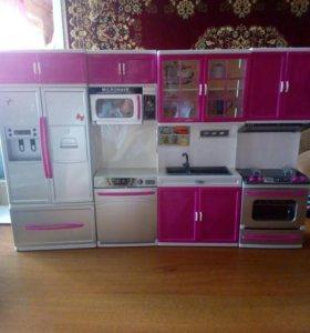 Кухонный гарнетур (для кукол Барби)