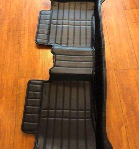 Кожаные ковры T-Style в Приус Prius 30