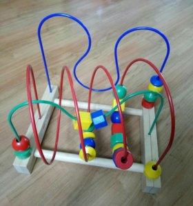 Развивающая игрушка мула икеа(лабиринт)