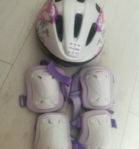 Шлем наколенники налокотники