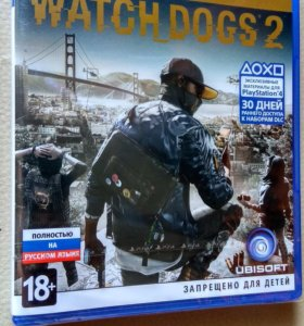 Watch Dogs 2 GOLD RUS PS4