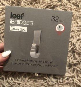 Внешний накопитель iPhone Leef iBridge 32 gb
