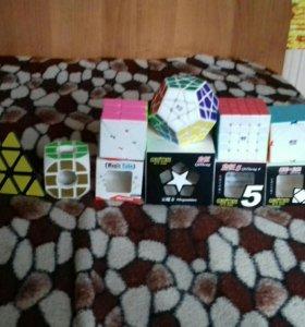 Кубики рубика 2 на 2,3 на 3, 5 на 5