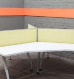 Офисные столы ( бенч Система на 3 рабочих места)