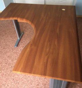 Угловые офисные столы ( б/у)