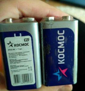 Батарейки Крона новые