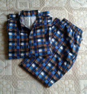 Новая Пижама фланелевая