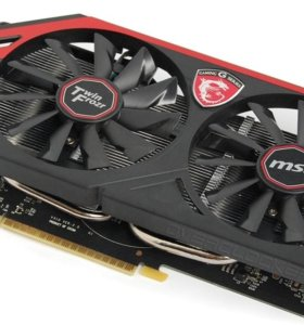 Видеокарта MSI GeForce GTX 750Ti 2Gb TwinFrozr