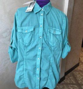 Рубашка S.OLIVER НОВАЯ! 38-44 размер