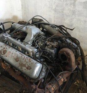 Продам двигатель ЯМЗ 238 с тутаевской апаратурой