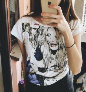 (XS) Удлиненная футболка Befree