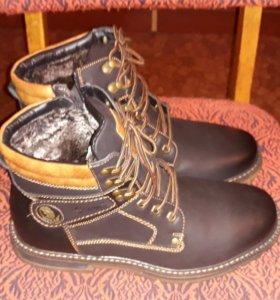 Новые зимние мужские ботинки.