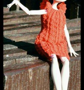 Платье для barbie, monster high