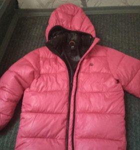 Куртка не на худую девочку