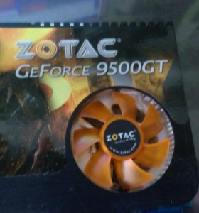 Zotac nvidia GeForce 9500 GT 1gb