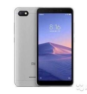 Xiaomi Redmi 6A 2GB ОЗУ/32 GB встроенной. Новый
