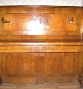 Антикварное пианино Зэйлер (Seiler) 1910г