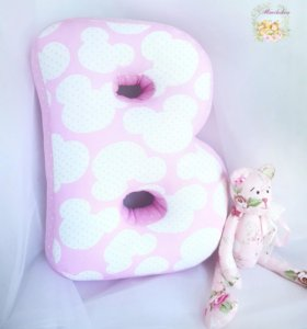 Буква-подушка