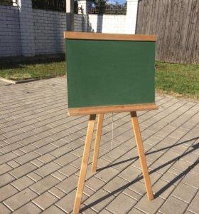 Детская доска для рисования мелками