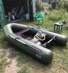 Лодка ПВХ ФРЕГАТ под мотор до 10 л/с