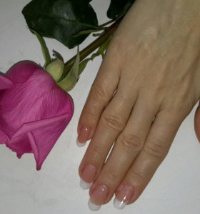 Норащивание ногтей. Педикюр.