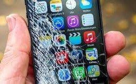 Дисплей iPhone с установкой