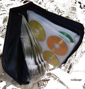 Сумка - портмоне с DVD дисками 160 шт