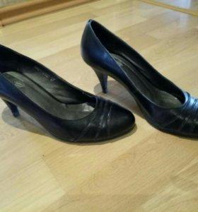 Туфли кожаные, 37 размер