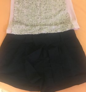 Комплект шорты и топ