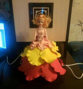 светильник-ночник кукла